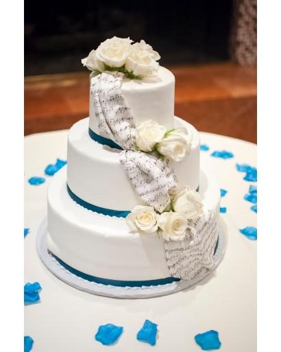 3 Layer Vanilla Birthday Cake