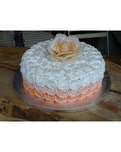 Birthday Party Cream Cake