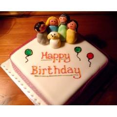 Family Birthday Cake