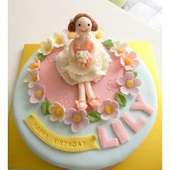 Fondant Character Birthday Cake