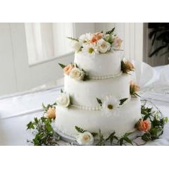 White Icing Birthday Cake