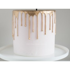 Happy Father's Day White Cake