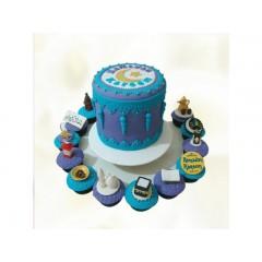 Ramadan Themed Cake & Cupcakes