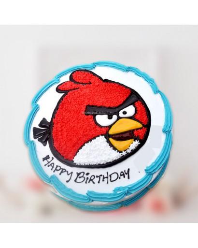 Angry Bird Cream Cake