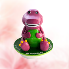 Barney Character Cake