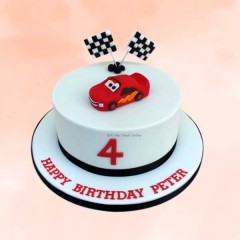 Happy Birthday Car Design Cake