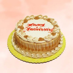 Anniversary Caramel Cake