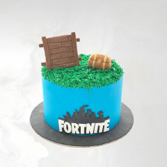Fondant Fortnite Cake
