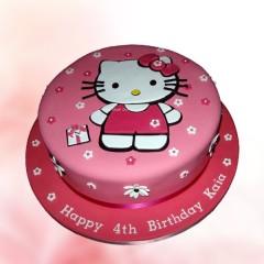 Hello Kitty Theme Cake