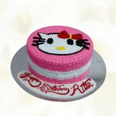Hello Kitty Decoration Cake