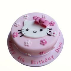 Designer Kitty Cake