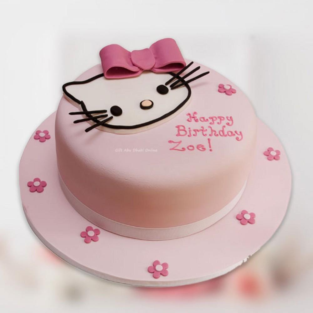 Hello Kitty Birthday Cake Gift Abu Dhabi Online