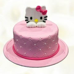 Yummy  Hello Kitty Cake