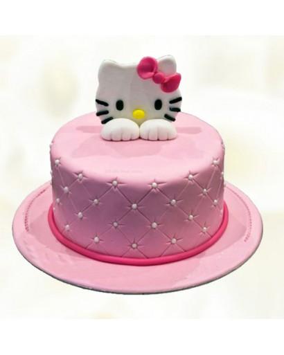 Yummy  Hello Kitty Cake