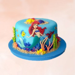 Mermaid Photo Design Cake