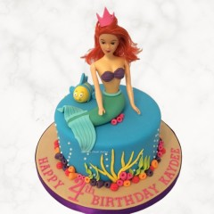 Mermaid Doll Cake
