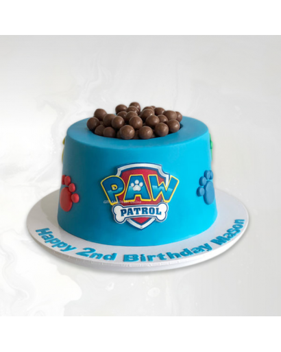 Choco Balls Paw Patrol Cake