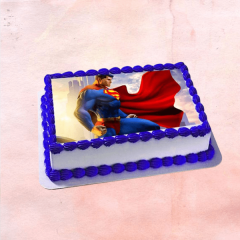 Superman Photo Cake
