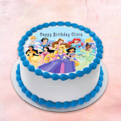 Edible Frosting Sheet Princess Cake