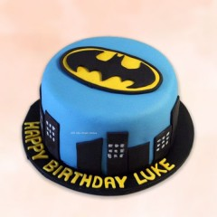 Batman Theme Birthday Cake