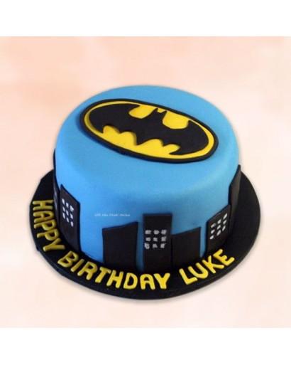 Batman Theme Birthday Cake