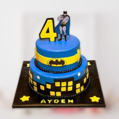 Superhero Batman Cake