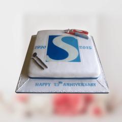 Anniversary Corporate Cake