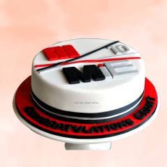 Congratulations Corporate Cake