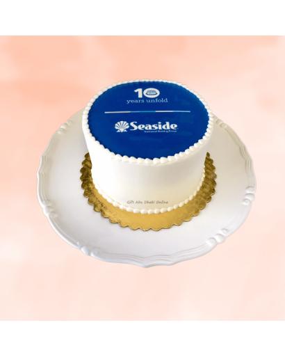 Anniversary Event Corporate Cake