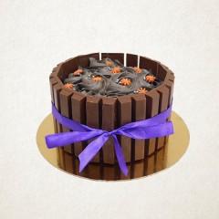 Crispy Kitkat Cake