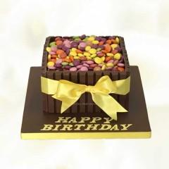 Happy Birthday Kitkat Cake