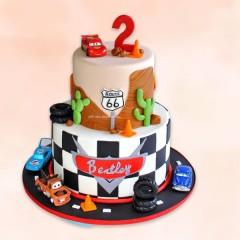 Lightning Mcqueen Layer Cake