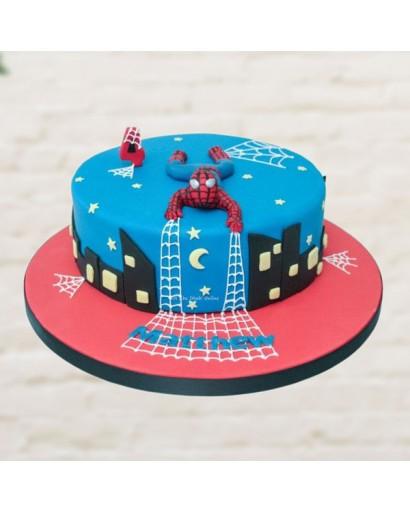 3D Spiderman Cake