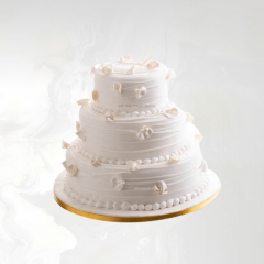 Three Layer Wedding Cake