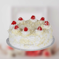 White Forest Cream Cake