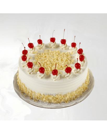 Classic White Forest Cake