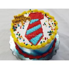 Happy Father's Day Tie Cake