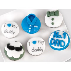 Father's Day Cool Cupcakes