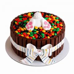 Easter Bunny Kitkat Cake