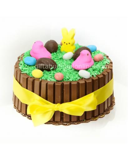 Easter Kitat Cake