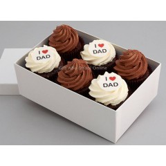 Father's Day Cupcakes Box