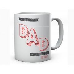 Customised Happy Father's Day Mug