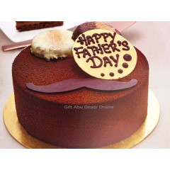 Happy Father's Day Sponge Cake