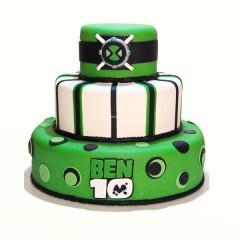 Ben 10 Layer Cake