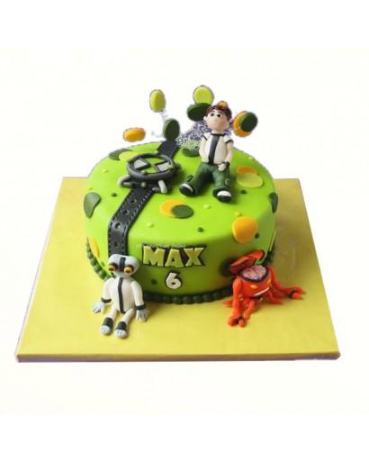 Ben 10 Characters Cake