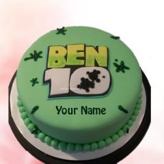 Ben 10 Edible Cake
