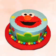 Custommade Elmo Cake