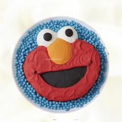 Elmo Cake Fondant