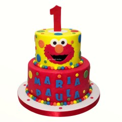 Elmo Layer Cake