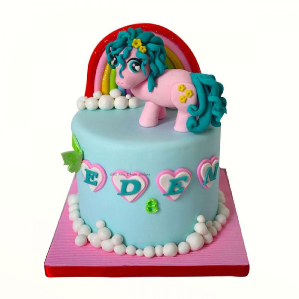 My Little Pony Cake Rainbow Dash | Gift Abu Dhabi Online